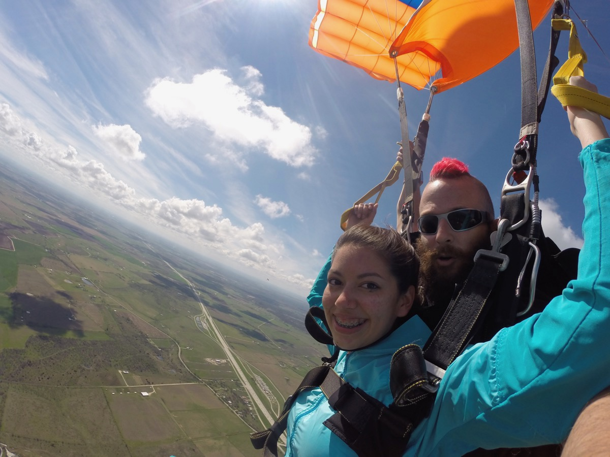 Skydive by Austin today! The BEST skydiving experience in TEXAS!